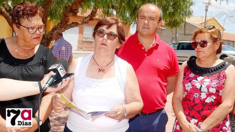 VÍDEO La pedanea de El Cañarico volverá a presentarse al cargo