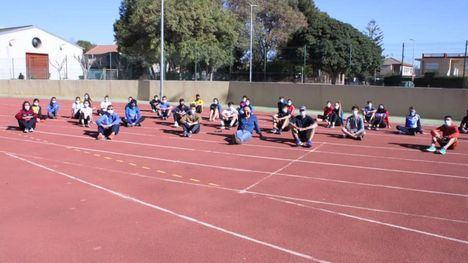 El Club Atletismo Alhama, en una jornada de tecnificación