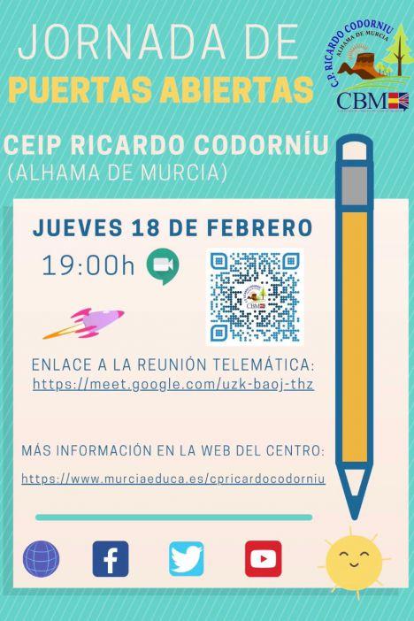El CEIP Ricardo Codorníu te invita a conocer su cole