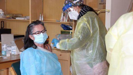 VÍDEO Nueva tanda de vacunas en la Residencia de Alhama