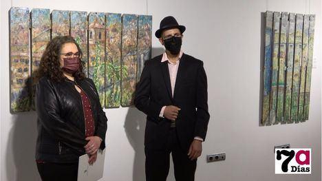 VÍDEO Abdelghani Rajoun expone su obra en El Pósito