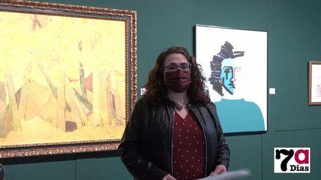 VÍDEO Alhama exhibe su patrimonio pictórico en Los Baños