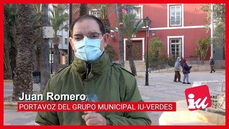 VÍD. IU afirma que los ahorros de Alhama no son gracias al PSOE