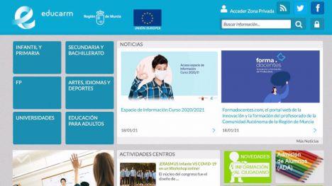 Frenan un ciberataque contra la plataforma educativa Educarm