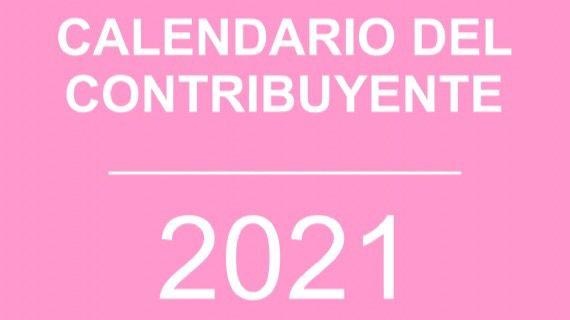 Disponible el calendario el contribuyente de este 2021