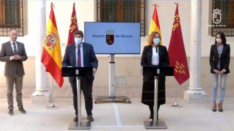 López Miras remodela el Gobierno y pone fin a la moción de censura