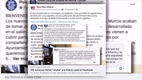 """Otra multa de 100€ por llamar """"maleducados y chulos"""" a los policías"""