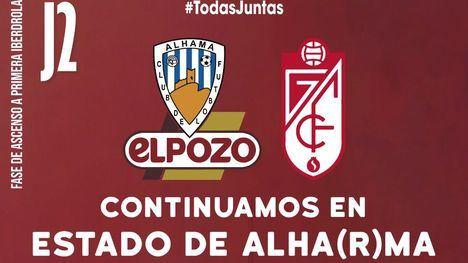 El Alhama ElPozo recibe al Granada CF en un Guadalentín al 75%