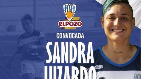 La azulona Sandra Luzardo, convocada por su Selección