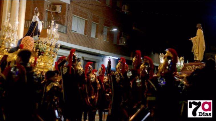 Foto de Archivo de la tradicional Serenata a la Virgen de los Dolores que tendría lugar este jueves por la noche.