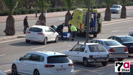 En la Arrixaca un hombre atropellado frente al Palmeral