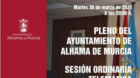 Cuatro mociones al pleno de marzo del próximo martes