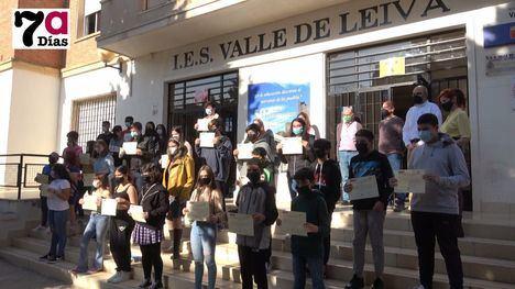 V/F El Valle de Leiva homenajea a sus alumnos mediadores