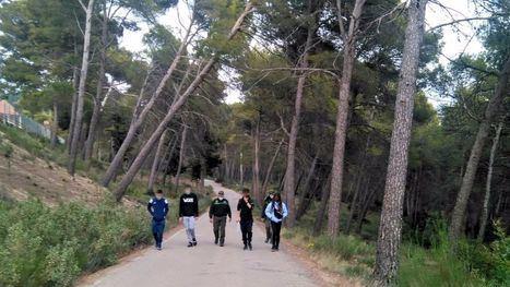 Cuatro jóvenes se cuelan en el antiguo sanatorio de S. Espuña