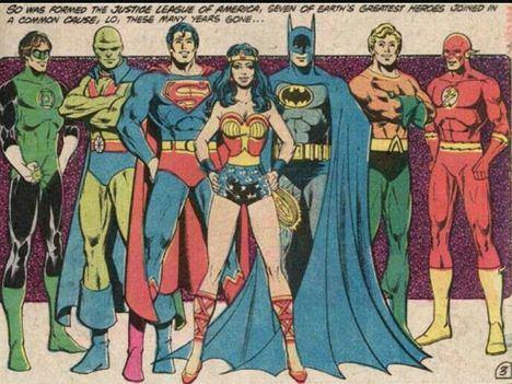 La última 'Liga de la Justicia'