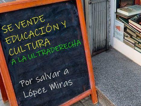 Se vende Educación y Cultura