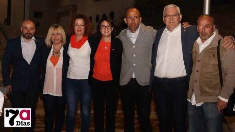 Responsables de Ciudadanos en Alhama de Murcia, durante la pasada campaña electoral