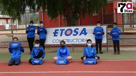 V/F Etosa se une al proyecto del Club Atletismo Alhama