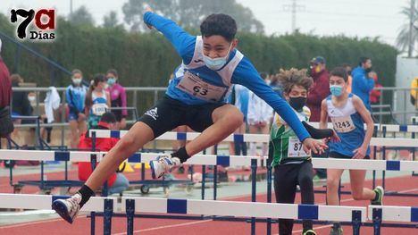 FOTOS Notable papel de los atletas alhameños en la Sub14