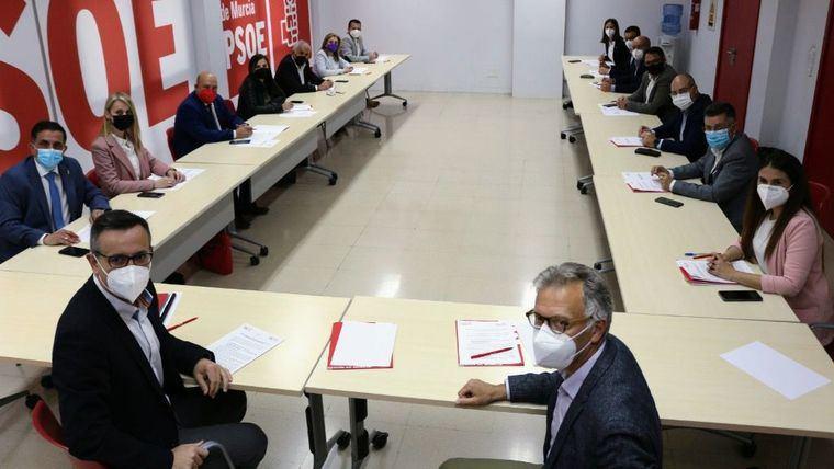 Guevara participa en una reunión de apoyo al Trasvase Tajo-Segura