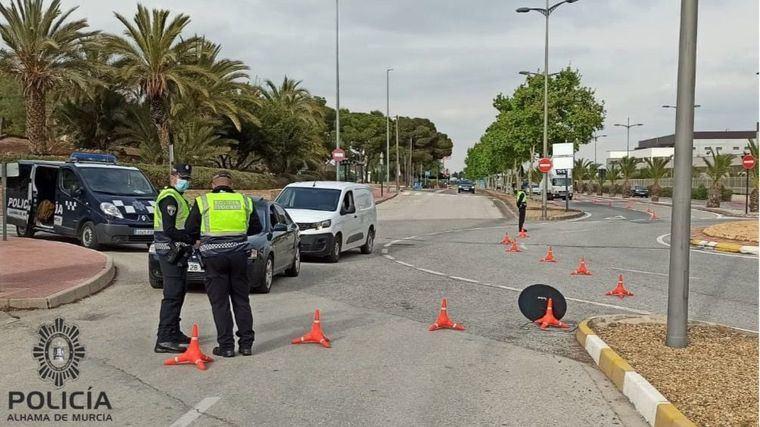 Tres detenidos en Alhama por delitos de Seguridad Vial