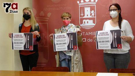 VÍD. Alhama destina 200.000 euros en ayudas a la hostelería