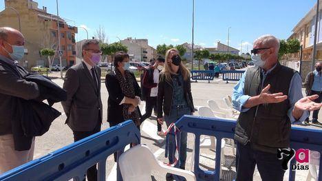 VÍD. Día de esperanza con la vacunación masiva en Alhama