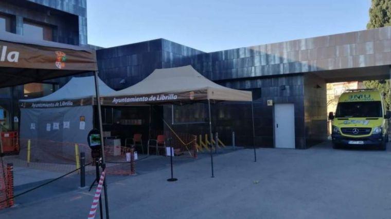Los librillanos de 60 a 65 años también se vacunan en Murcia