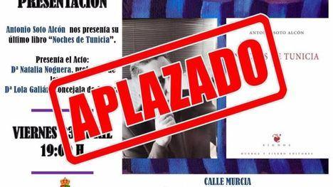 Librilla suspende las actividades del Día del Libro de mañana viernes
