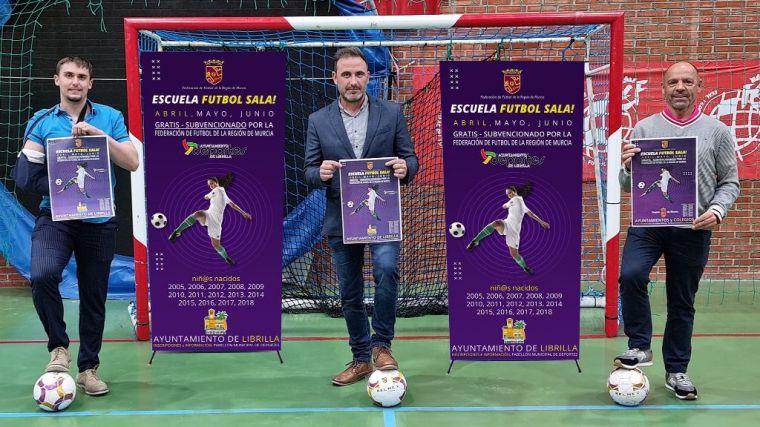 Librilla potencia el fútbol sala entre los jóvenes