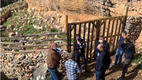 Rehabilitan un aprisco tradicional en El Berro