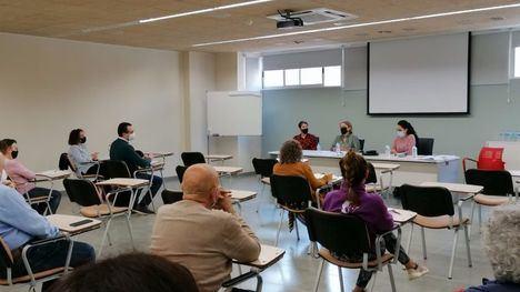FOT. Nueva reunión de Servicios Sociales de la CARM en Alhama