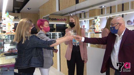 VÍD/FOT Dulce Maribel abre nueva tienda en la avenida Juan Carlos I
