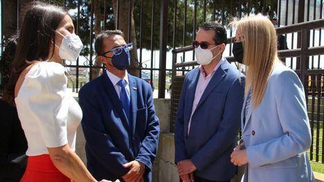 FOTOS La alcaldesa, en el Congreso sobre Enfermedades Raras