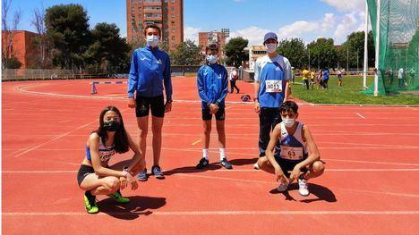 FOTOS Marcas de podio para nuestros atletas en Cartagena