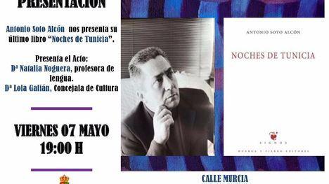 Antonio Soto presenta este viernes sus 'Noches de Tunicia'