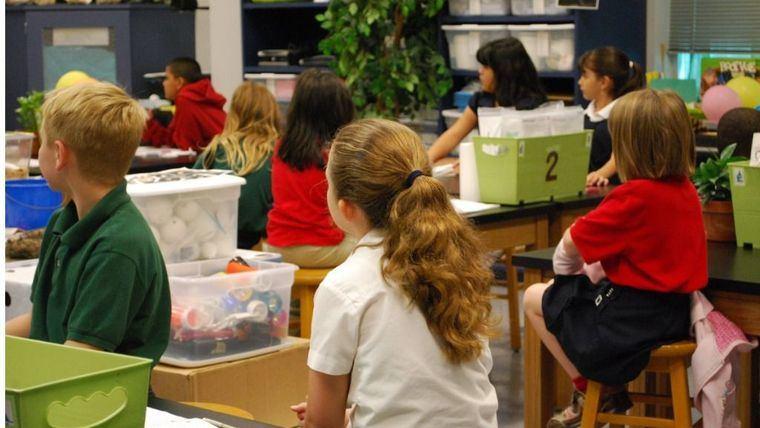 Descontrol total en la vuelta a la presencialidad en las aulas
