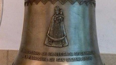 La Parroquia de San Lázaro contará con una nueva campana