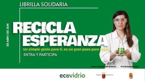Librilla se suma a la campaña 'Recicla Esperanza'