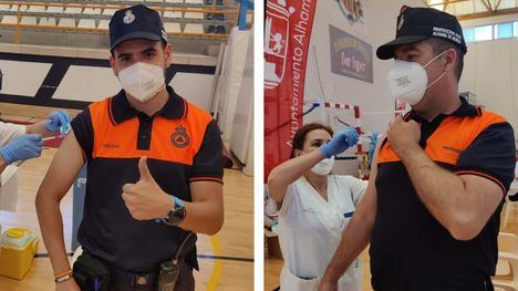 FOT. Protección Civil de Alhama, vacunados tras su denuncia en 7Días