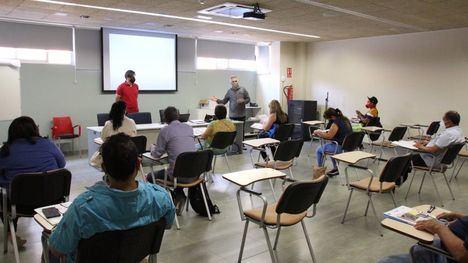 FOTOS Arrancan los cursos de formación del Cifea en Alhama