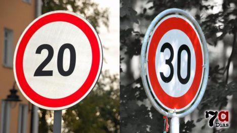 En vigor los nuevos límites de velocidad en casco urbano