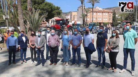 VÍD. Regantes de Alhama y Librilla se echan a la calle en defensa del Trasvase