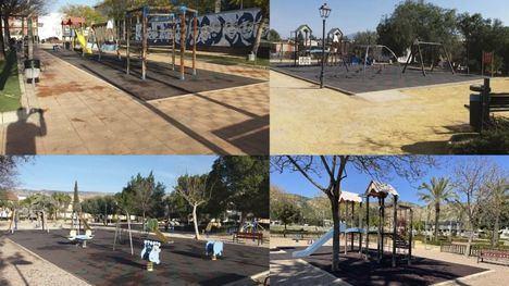 Las zonas de juegos infantiles de los parques tendrán sombra