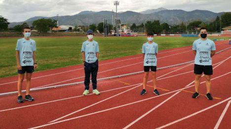 Tres atletas de Alhama, este finde en el nacional Sub14 en Sevilla