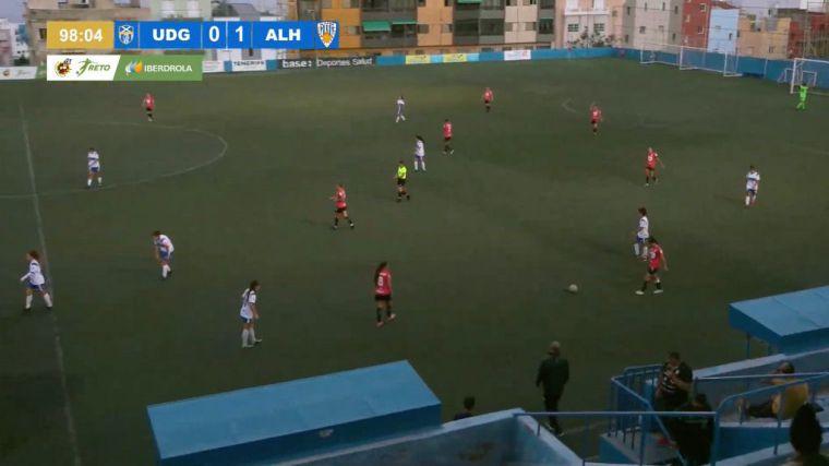 El Alhama CF ElPozo gana los 3 puntos al UDG Tenerife (0-1)