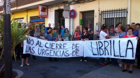 Concentración por el servicio de Urgencias en Librilla este 1 de junio