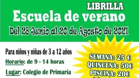 Librilla abre las inscripciones para la Escuela de Verano