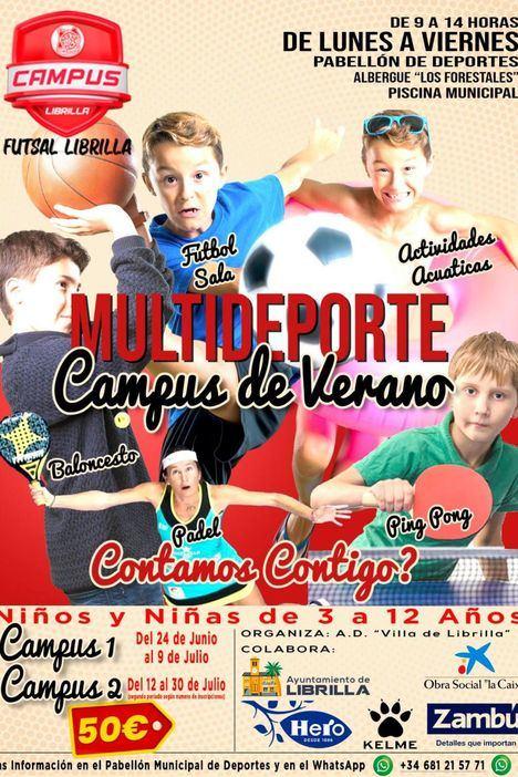 Los amantes del deporte tienen su campus en Librilla
