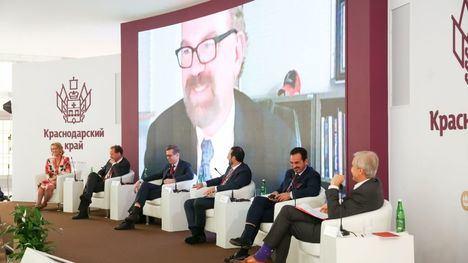 Rafael Fuertes interviene en el Foro Económico Int. de San Petersburgo